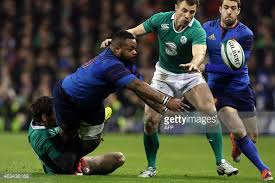 Ireland need to nullify the line-breaking ,off-loading threat of Mathieu Bastareaud.
